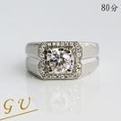 【GU鑽石】A100男戒擬真鑽石鋯石戒指...