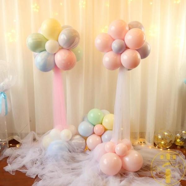 結婚布置周歲生日派對創意情人節裝飾花朵氣球立柱路引【雲木雜貨】