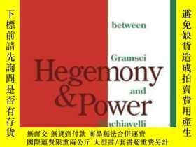 二手書博民逛書店Hegemony罕見And Power-霸權與權力Y436638 Benedetto Fontana Univ