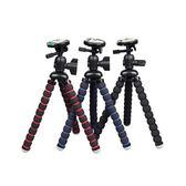 腳架  八爪魚三腳架自拍桌面八抓魚手機單反微單相機便攜百變支架 JD 非凡小鋪