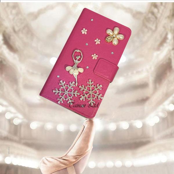 HTC U20 5G Desire20 Pro Desire19+ U19e U12 Life U12+ Desire12 芭蕾雪花 水鑽皮套 手機皮套 訂製