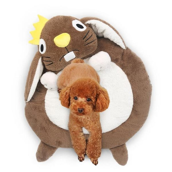 貓窩狗狗墊子寵物用品睡墊狗床泰迪幼犬小型犬睡覺狗窩可愛貓窩夏天寵物窩 交換禮物