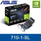 【免運費】ASUS 華碩 710-1-SL 顯示卡 GT710 1GB DDR3