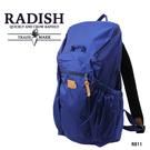 藍色-輕量機能後背包  AMINAH~【 RADISH R811】