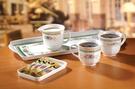 【下殺出清2折起】典雅小碎花《輕鬆咖啡盤組》--賣點購物
