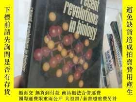 二手書博民逛書店Recent罕見Revolutions In Biology【1