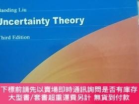 二手書博民逛書店Baoding罕見Liu Uncertainty Theory Third Edition 不確定性理論英文原版奇