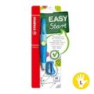 STABILO 德國 思筆樂 EASYergo 3.15 胖胖鉛自動鉛筆組(附削筆器) 左手筆 淺藍深藍色 / 組 B-46867-3