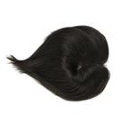 假髮片(真髮)-全手織短直髮頭頂遮蓋女假髮73vm23[時尚巴黎]