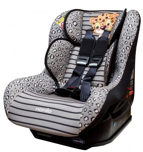 [ 家事達 ] 法國納尼亞NANIA- 0-4歲-兒童汽車安全座椅-花豹灰 特價