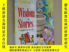 二手書博民逛書店Wisdom罕見Stories 英文彩色漫畫插圖本Y85718