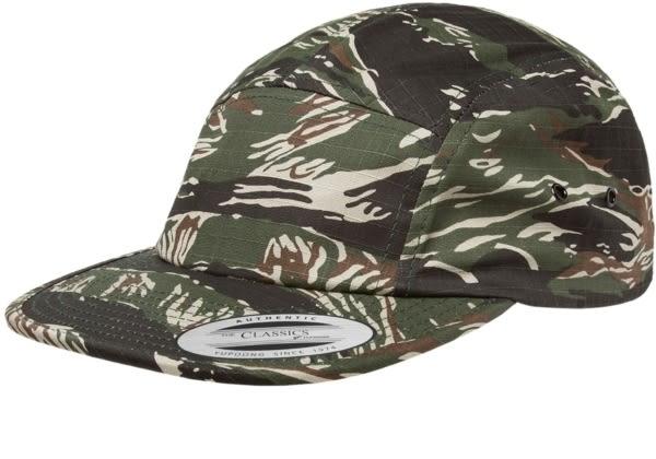 YP BASICS Classic 5 panel Camp Cap 經典五分割帽 迷彩色 帽子 休閒 / 街頭 / 百搭 / 情侶