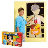 人體器官掛袋 LR學習資源兒童幼兒教具玩具道具遊戲訓練科學觀察學習探索模型生物教學袋