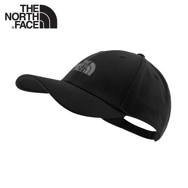 【The North Face 棒球帽《黑》】4VSV/水洗棉透氣運動帽/鴨舌帽/遮陽帽/卡車帽