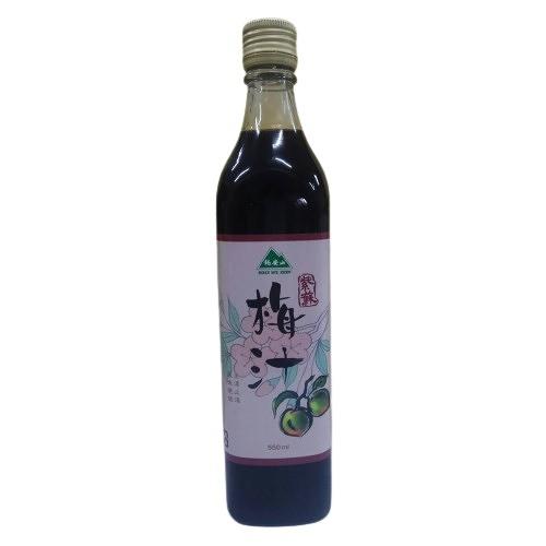 錫安山 紫蘇梅汁 550ml/瓶