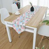 棉麻現代簡約小清新電視櫃桌布藝床旗餐桌旗