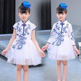兒童公主裙演出服女童蓬蓬裙