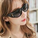 霧黑外掛式全罩多功能偏光UV400墨鏡/...
