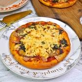 純素培根披薩6吋 VEGAN pizza★愛家非基改純淨素食 香濃純素起司 全素美食 加熱即食