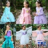 童裙兒童白雪公主裙女童連衣裙聖誕節舞會服裝【英賽德3C數碼館】