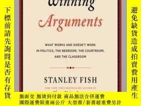 二手書博民逛書店【英文原版】Winning罕見Arguments: What Works and Doesn t Work in
