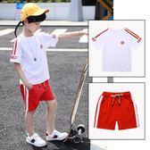 童裝男童 夏裝新款短袖套裝兒童潮裝男中大童夏季運動服兩件套 GB2912『東京衣社』