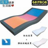 【海夫】日本原裝 凝膠床墊 安眠舒壓床墊 (KEH-91H150TP)綠綠綠,BMI