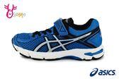 ASICS GT-1000 4 PS 運動鞋 中童 亞瑟士 透氣 輕量 緩震 慢跑鞋 O7666#藍色◆OSOME奧森童鞋