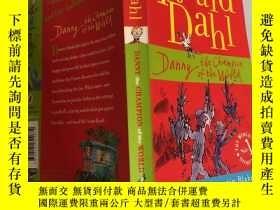 二手書博民逛書店Roald罕見Dahl the champion of the world 世界冠軍羅爾德達爾Y200392