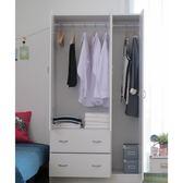 快速出貨 收納 衣櫥 衣櫃 收納櫃【2943】舒活三門二抽多功能收納衣櫥 衣物收納 MIT 台灣製 (3色)