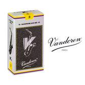 小叮噹的店- 法國 Vandoren ALTO V12 中音薩克斯風竹片 銀盒 10片裝 A-V12