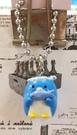 【震撼精品百貨】Tuxedo Sam Sanrio 山姆藍企鵝~鎖圈/吊飾-魚*78548