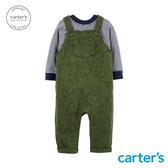 【美國 carter s】森林動物吊帶褲2件組套裝-台灣總代理
