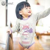 Minerva米諾娃 | 【女超人系列】長袖包屁衣-女超人印花