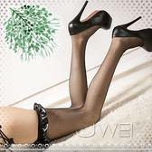 魅影性感蝴蝶結長筒網襪黑性感絲襪 網襪子情趣服裝鏤空襪薄紗花紋荷葉網紗柔緞美腿透視