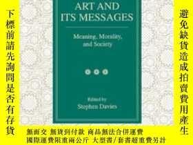 二手書博民逛書店Art罕見And Its Messages: Meaning,