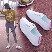 快速出貨 小白鞋夏季百搭女韓版學生平底休閒透氣運動鞋潮