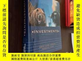 二手書博民逛書店INVESTMENTS罕見FOURTH CANADIAN EDITION投資加拿大 第四版Y12880 Bod