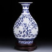 陶瓷花瓶-細膩紋路內斂質感居家瓷器擺飾2色73c16【時尚巴黎】