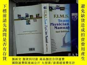 二手書博民逛書店F.I.M.S.TEAM罕見PHYSICIAN MANUAL 2