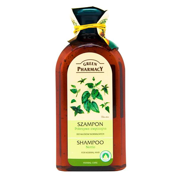 【Green Pharmacy草本肌曜】刺蕁麻保濕柔順洗髮露350ml (一般髮質適用)
