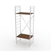 組 - 特力屋萊特 組合式層架 白框/深木紋色 60x40x158cm