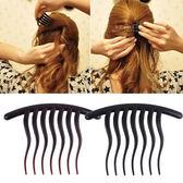 波浪馬尾盤髮叉梳 髮型用品 盤髮器 波浪叉梳