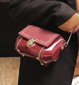 小眾包包包女2019新款法國小眾森繫小黑包百搭質感高級感  【熱賣新品】