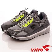 【VITRO】韓國專業運動鞋-Walking-頂級專業健走機能鞋-OC105灰綠(男女)