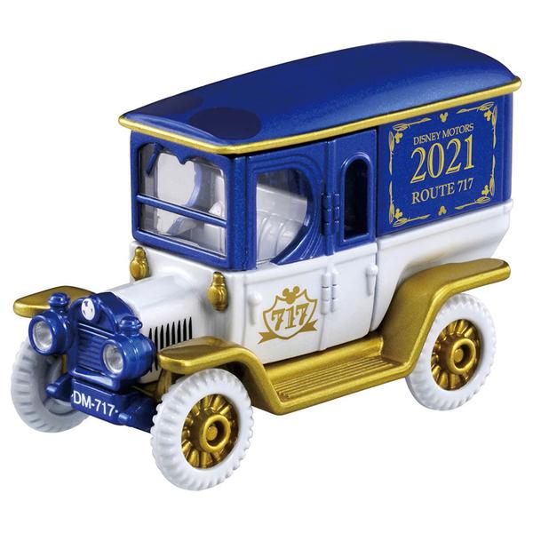 迪士尼小汽車 經典717高帽子車-附鑰匙_ DS17910