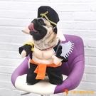 豬八戒變身裝搞笑狗狗衣服戴帽子豬豬裝小狗寵物搞怪裝【小獅子】