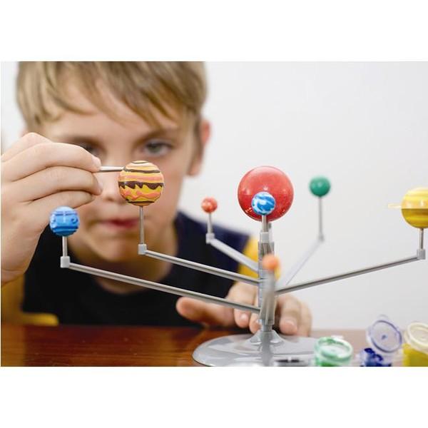 《4M科學探索》立體八大行星Glow Solar System Mobile ╭★ JOYBUS玩具百貨