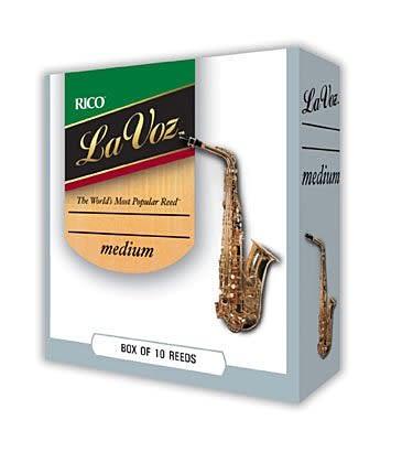 【金聲樂器廣場】全新美國 Rico lavoz alto medium 薩克斯風竹片
