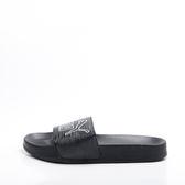 PUMA  流行 運動拖鞋-黑/白 365694-01